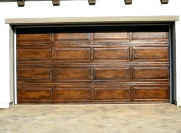 faux-wood-garage-doors-prices-wooden-paint